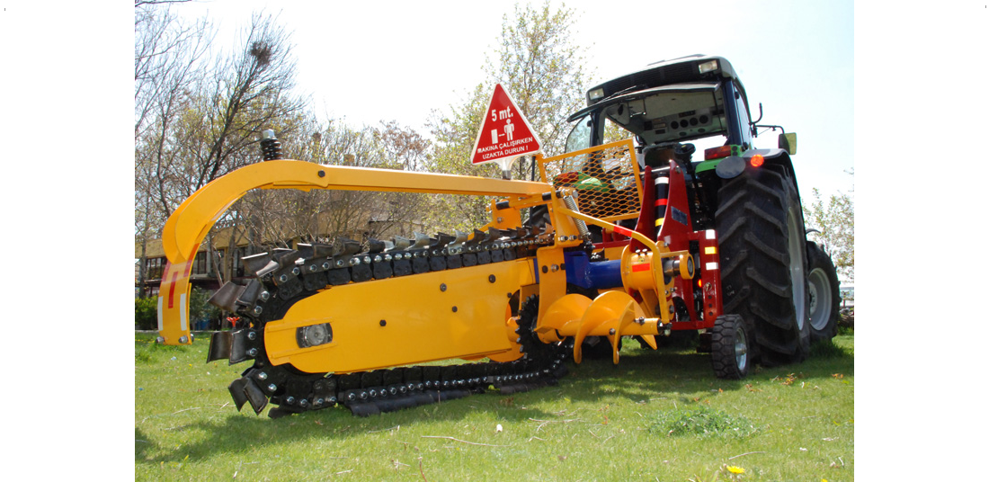 Example Existing Chain Trench Digger