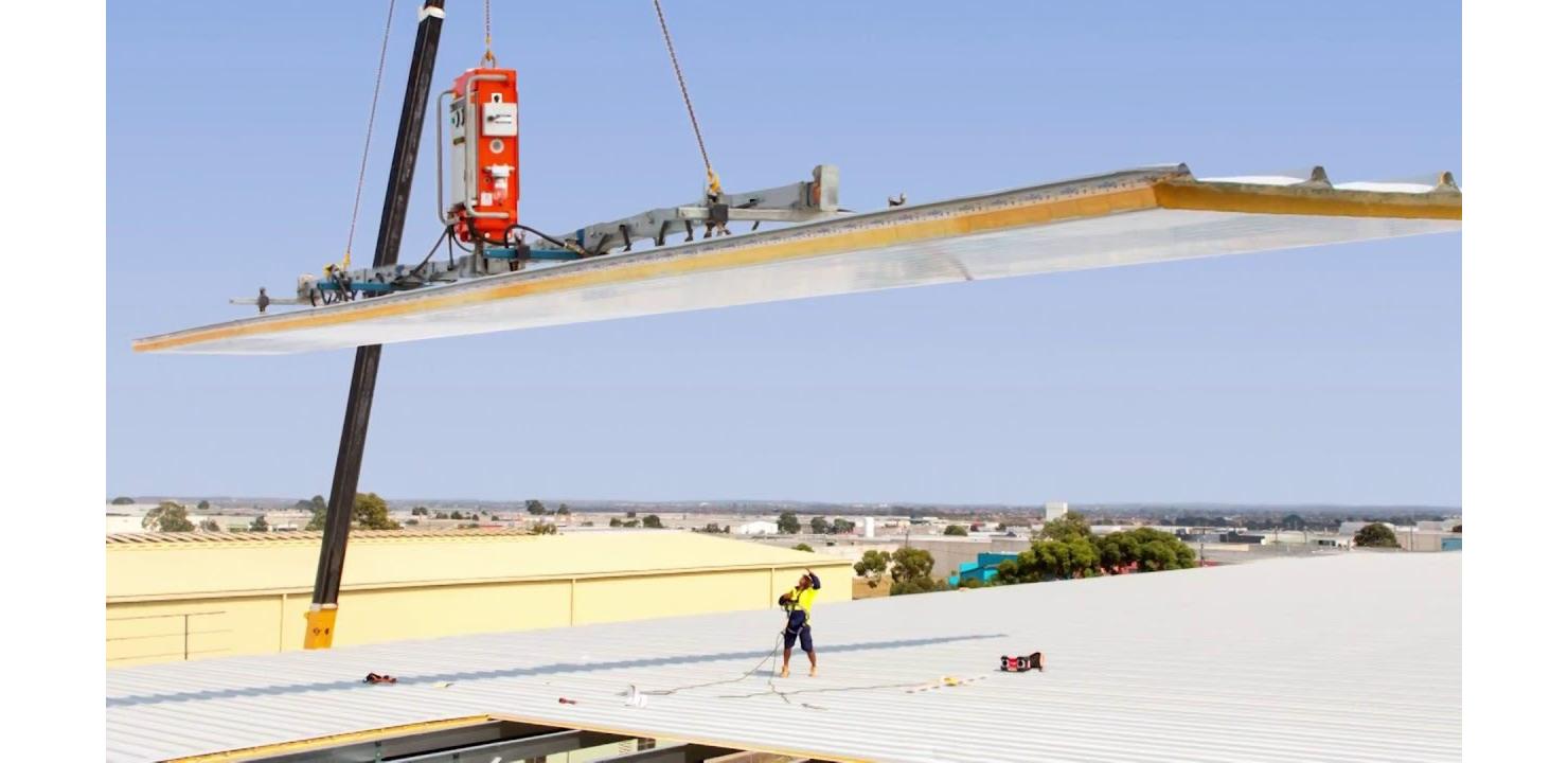 Automate Installation of Solar Onto Steel Panel