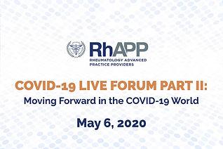 FMC-20-12 RhAPP COVID Forum II Repeater.