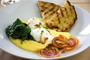 Polenta & Eggs