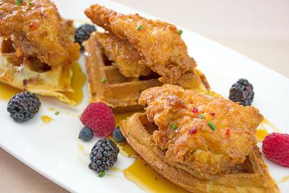Calabrian Chicken & Waffles