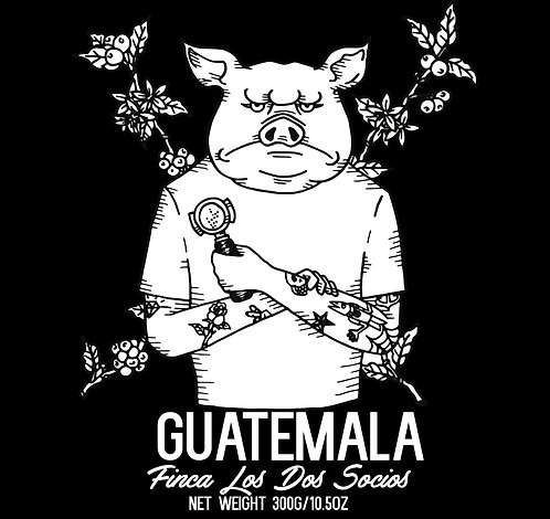 Guatemala - Concepción Villatoro - Finca Los Dos Socios