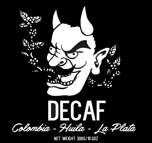DECAF - COLOMBIA - Huila - La Plata