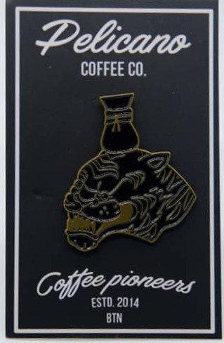 Pelicano Coffee Pin
