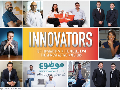 Top 100 Startups In The Middle East – 2018