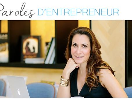 Parole d'entrepreneur : la parole à… Ingrid Pagonis !
