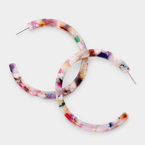 Acrylic earring