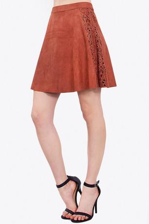 Brown Seude skirt.jpg