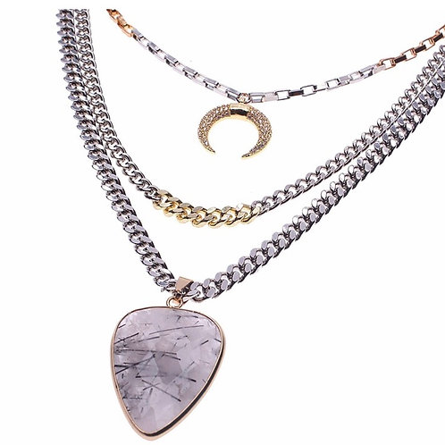 Layered Metal Necklace