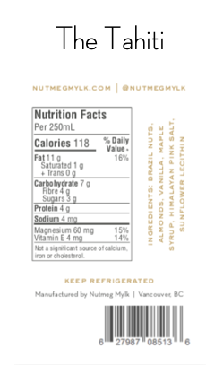 Get the Facts | The Nutritional Info You've Been Asking for