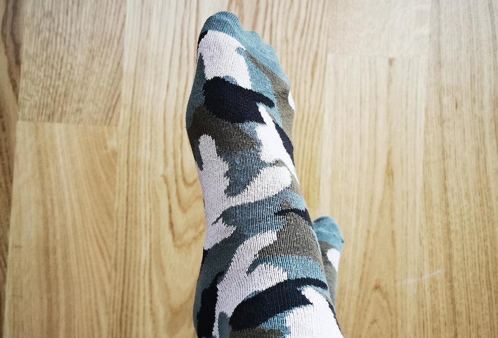 Camo Socken - getragen