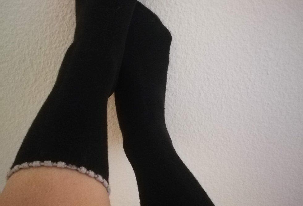 Baumwollsocken - getragen
