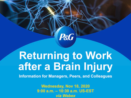 Returning to Work after a Brain Injury - by Raymond Lynch