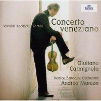 Vivaldi, Locatteli y Tartini