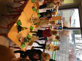 Kerstboom museum in de klas