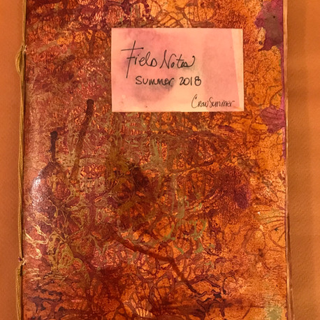 Summer Art Making: Field Notes