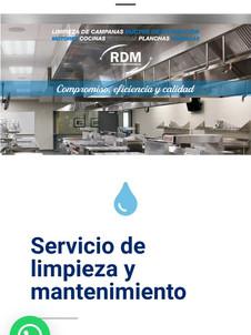 RDM Limpieza