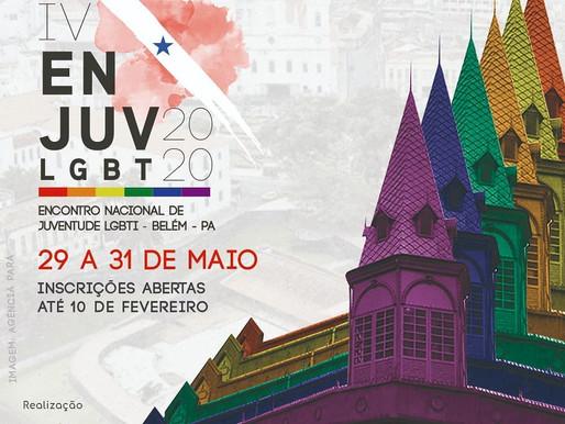 Abertas as inscrições para o IV Encontro Nacional de Juventude LGBTI em Belém