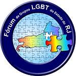 Logo do fórum lgbt do estado do Rio de Janeiro