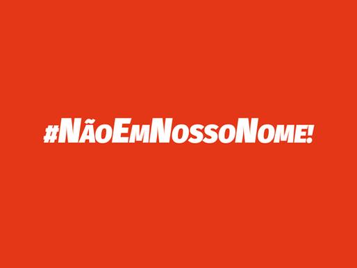 Porque não há negociação com o governo Bolsonaro #NãoEmNossoNome