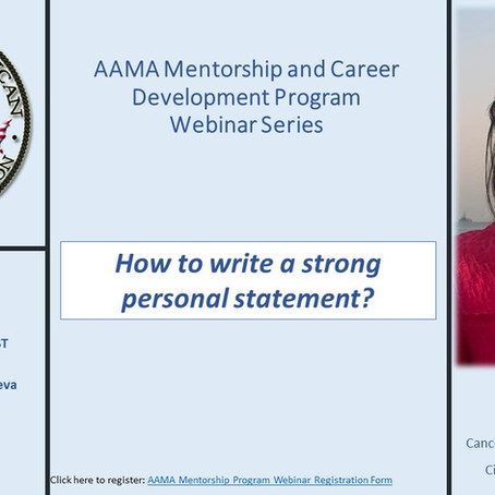 How to write a strong personal statement?