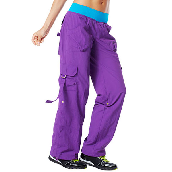 O craveworthy cargo pants cut n paste purple zumba for B b italia carugo
