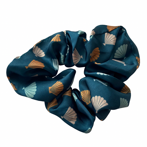 Sea Shells Hair Scrunchie