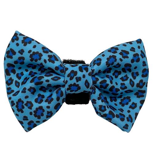 BLUE LEOPARD Bow
