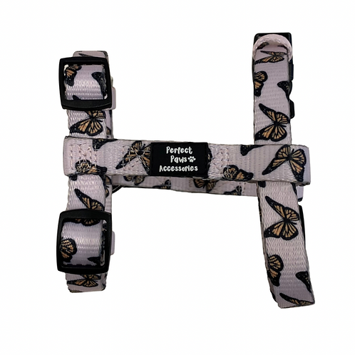 PINK BUTTERFLIES Strap Adjustable Harness