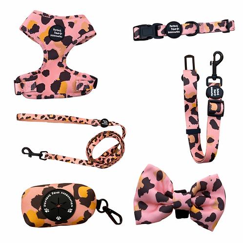 Pink leopard Full Set