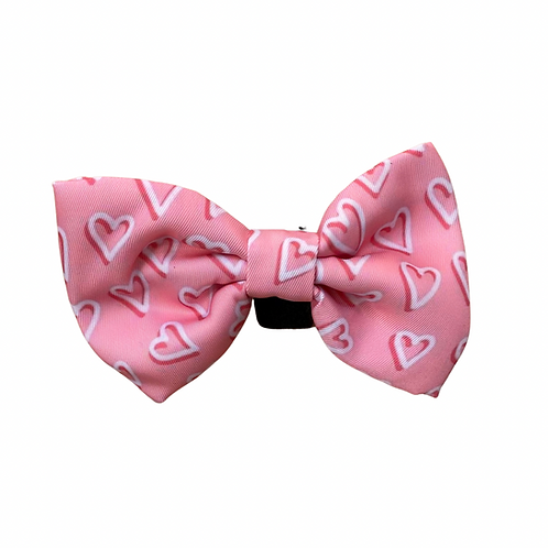 PINK HEARTS Bow