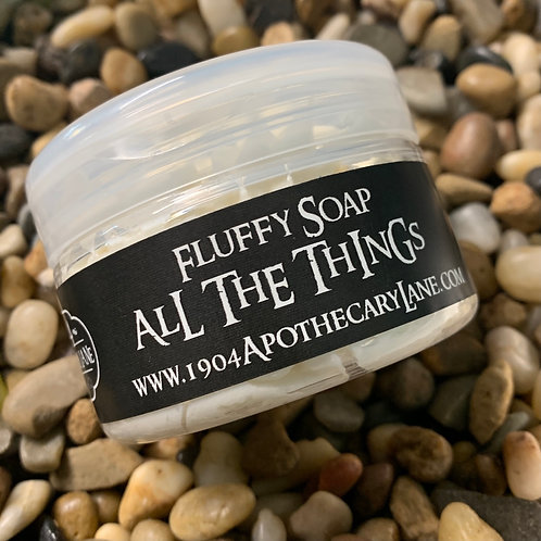 All the Things Fluffy Soap