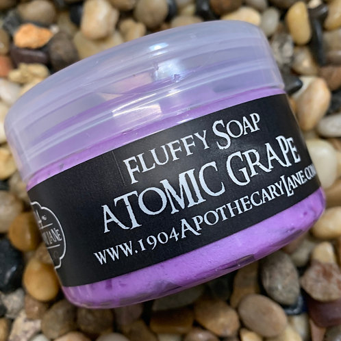 Atomic Grape Fluffy Soap