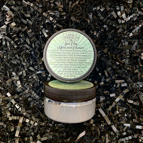 Spa Clay Mask 2 oz