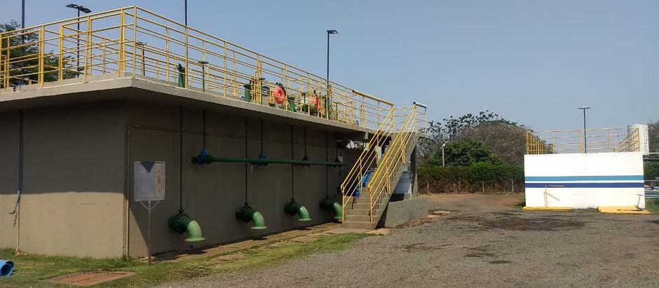 Estação de Tratamento de Água Tulipas recebe melhorias