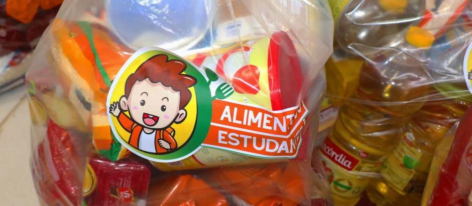 Nessa sexta, dia 7, entrega da segunda parte do kit de alimentação escolar