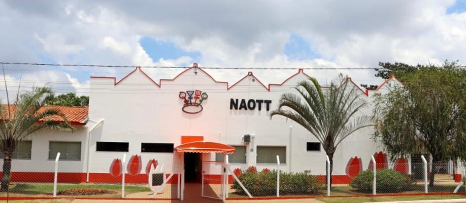 Prédio do NAOTT passa por uma grande reforma
