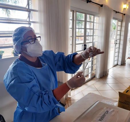 Holambra vacina amanhã e no sábado moradores acima de 40 anos com comorbidades