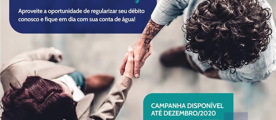 Campanha de negociação de débitos