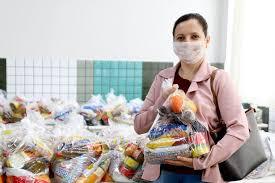 Kits alimentação  serão entregues para alunos da rede Municipal