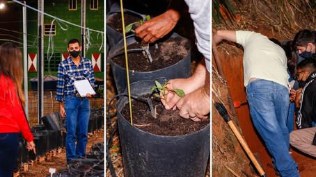 Grupo UniEduK participa do Projeto Bairro Verde da Prefeitura de Indaiatuba