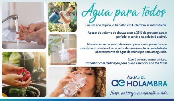 Água para todos
