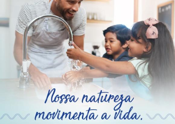 Água é saúde, qualidade de vida e um recurso imprescindível