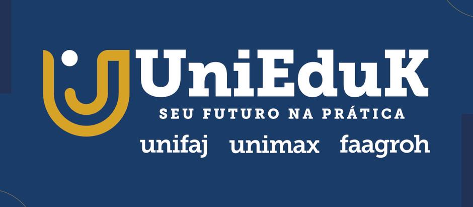 Grupo UniEduK fortalece sua marca como grupo educacional e lança novo Site!