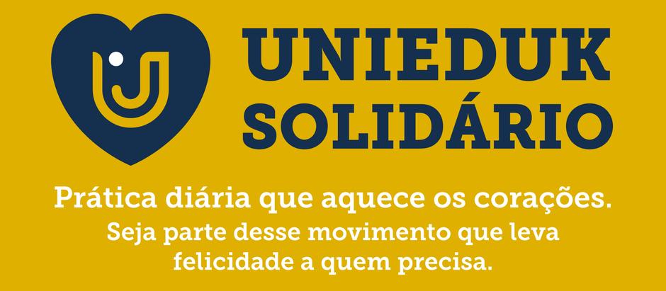 UniEduK Solidário propõe arrecadação de alimentos envolvendo alunos e comunidade