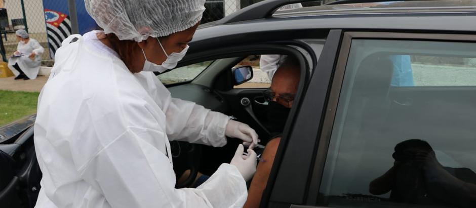 Holambra recebe novas doses e já vacina idosos com mais de 71 anos