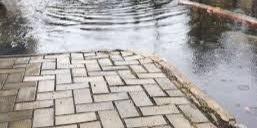 Água de chuva não pode estar ligada à rede de esgoto