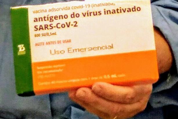 Momento histórico: Holambra inicia vacinação contra coronavirus