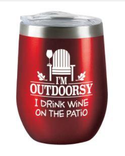 Wine Tumbler Outdoorsy