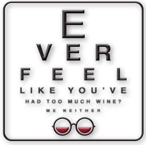Coaster, Eye Chart